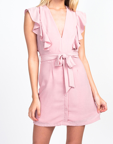 Color Me Pink Dress - Chica Boutique NY