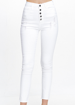 Button It Up Jeans - Chica Boutique NY