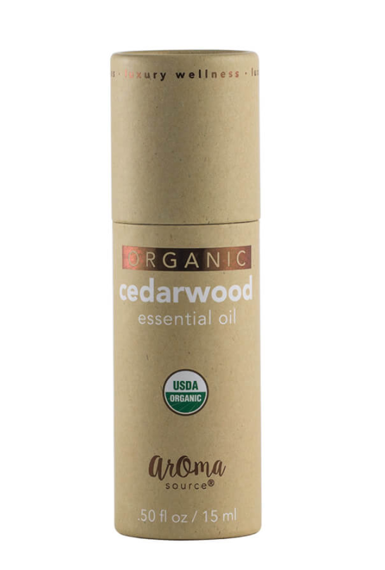 Aromasource Organic Cedarwood Essential Oil