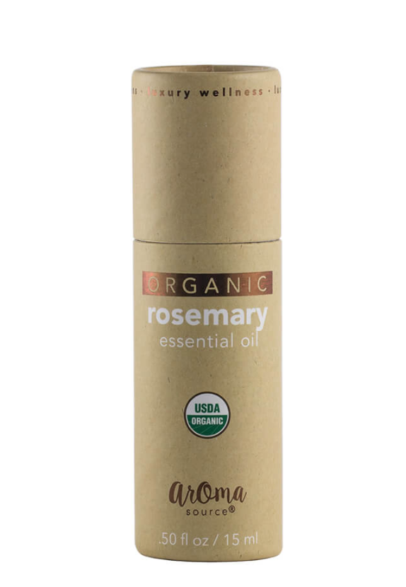 Aroma Source Organic Rosemary Essential Oil 15 mL / 0.5 oz.
