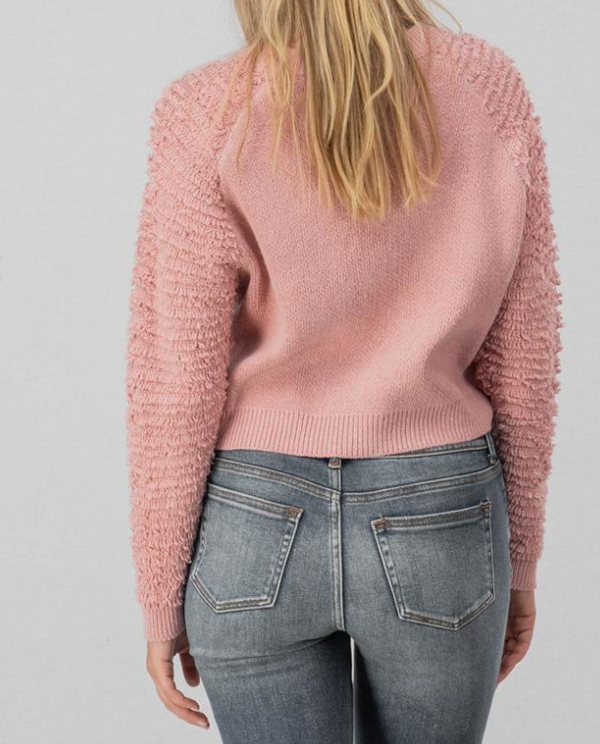 Frill Sleeve Sweater