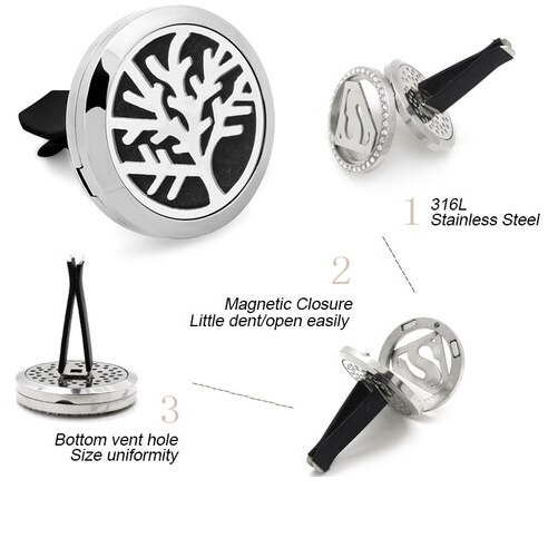 Aromatherapy Essential Oil Car Diffuser
