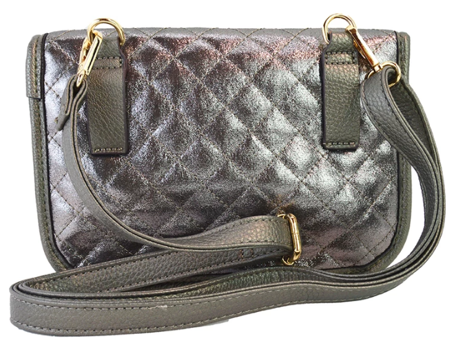 Quilted Convertible Waist/ Crossbody