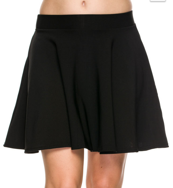 Twirl Mini Skirt