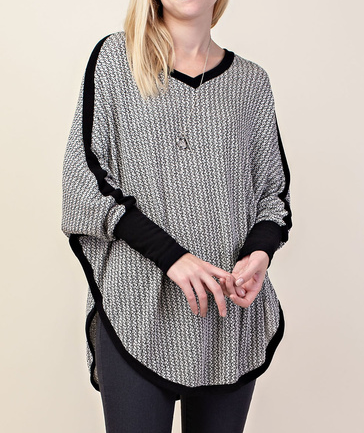 Banded Sleeve Sweater