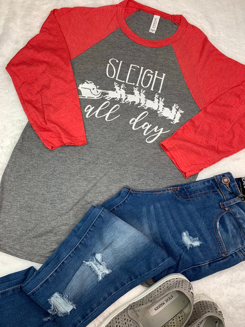 Sleigh Graphic Tee
