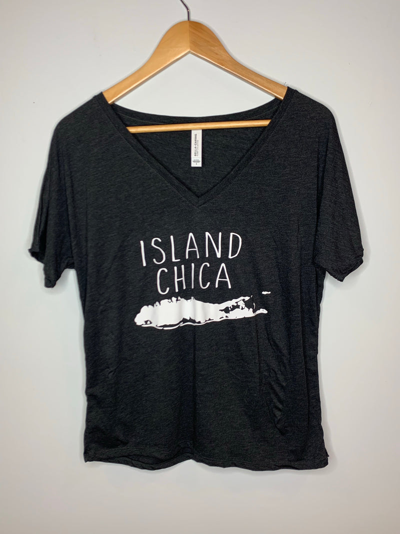 Island Chica Boxy Tee - Chica Boutique NY