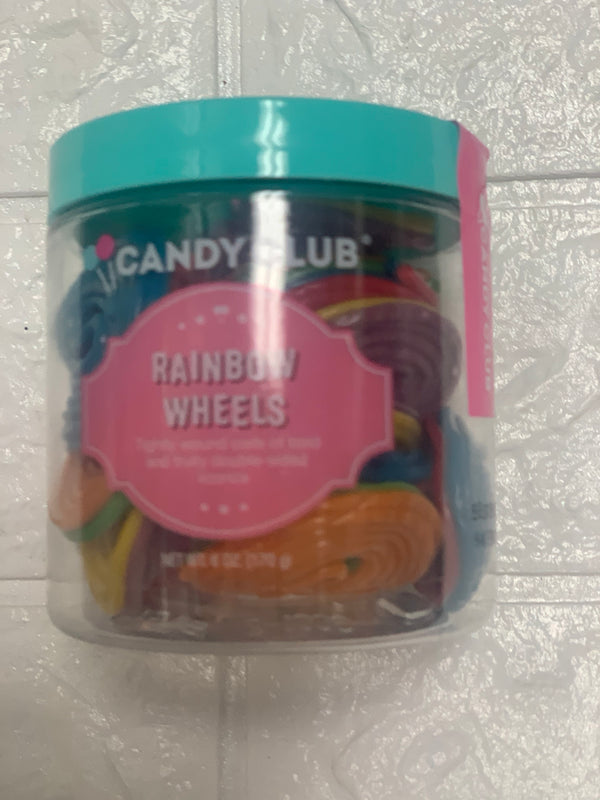 Candy Rainbow Wheels