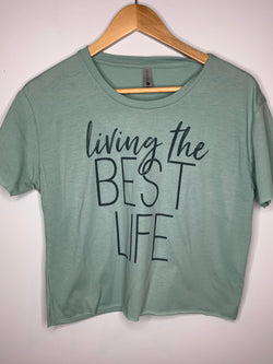 Living The Best Life Graphc Tee - Chica Boutique NY