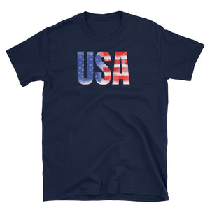 USA T-Shirt - United States of America Themed Shirt