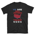 We Are New Jersey Trump 2020 Shirt