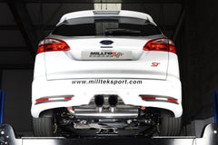 FOCUS MK3 ST 2.0-LITRE ECOBOOST ESTATE / SEDAN / LIMOSINE 2012 and later - Milltek Sport - Cat-Back - Resonated - EG/EC