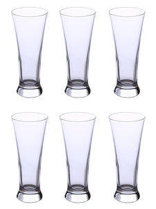 Uniglass Pilsner Beer glass 295 ML, Set of 6 pcs.