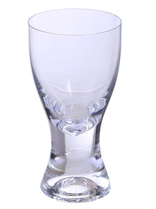 Bohemia Crystal Samba Water & Juice Drinking Glass Set, 200 ML, Set of 6pcs