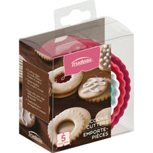 Load image into Gallery viewer, Trudeau Polypropylene Cookie Cutter Set, Set of 5, Multicolour