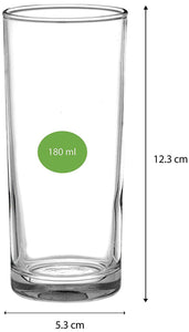 Uniglass Classico Juice & Welcome Drink Glass 180 ML, Set of 6 pcs