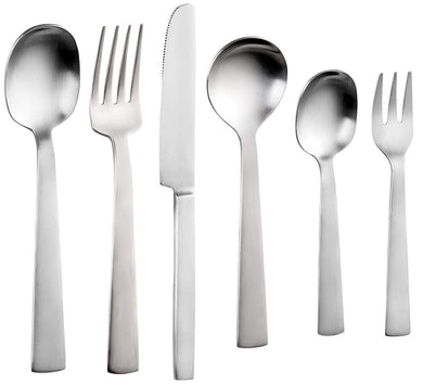 Sanjeev Kapoor Satin Stainless Steel Cutlery Set, 38-Pieces