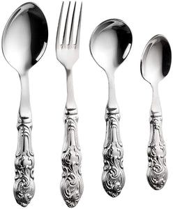 Sanjeev Kapoor Empire Stainless Steel Cutlery Set, 24-Pieces | Cutlery Set