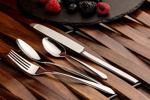 Sanjeev Kapoor Delton Stainless Steel Cutlery Set, 24-Pieces