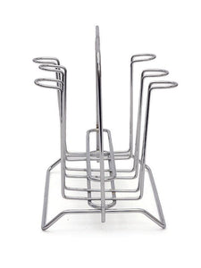 JVS S.S. 6 PC GLASS STAND