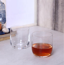 Load image into Gallery viewer, Bohemia Crystal Uma Whiskey Glass Set, 330ml, Set of 6, Transparent, Non-Lead Crystal