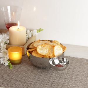 Smartserve Sphere Chip N Dip Serving Tray