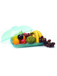 JVS Mystic Fruit Basket Blue Large set of 2