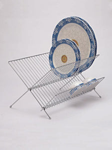 Stainless steel Foldable Plate Stand