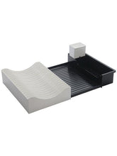 Load image into Gallery viewer, JVS Waves Extendable Dish Drainer -Black