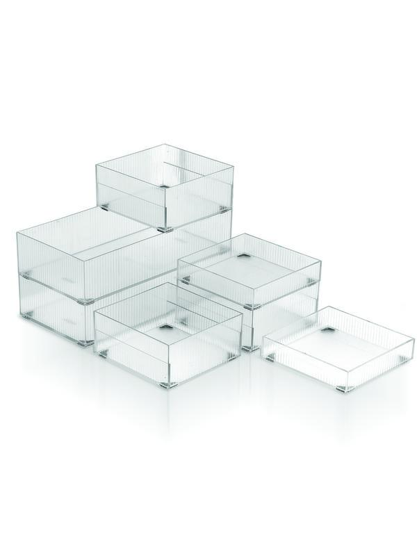 JVS Bricks Stackable Drawer Organisers Combo - SmartServe Houseware