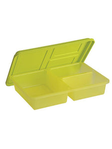 JVS Utility Box Clear Green set of 2