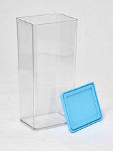 Load image into Gallery viewer, JVS Transparent 1225ml Container BLUE 2 Pcs