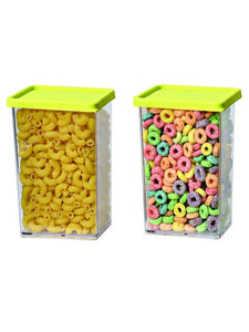 Foodgrade 375ml Containers green 6 pcs
