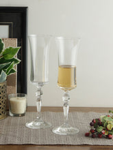 Load image into Gallery viewer, Bohemia Crystal Grace Champagne Flute 190 ML set of 6 pcs , Transparent , Non - lead Crystal | Champagne Flute