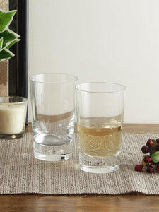 Bohemia Crystal Jive Transparent, Non Lead Crystal Water and Juice Glass, 250ml, Set of 6 Pieces