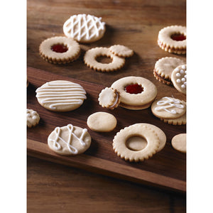 Trudeau Polypropylene Cookie Cutter Set, Set of 5, Multicolour