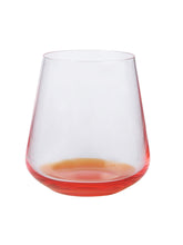 Load image into Gallery viewer, Bohemia Crystal Crystal Siesta Whiskey Glass, 400 Ml, Set of 6, Orange Base