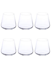 Load image into Gallery viewer, Bohemia Crystal Sandra Whiskey Glass Set, 290 ML, Set of 6 pcs.
