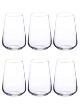 Load image into Gallery viewer, Bohemia Crystal Sandra Cocktail & Juice Drinking Glass Set, 380 ML, Set of 6pcs,