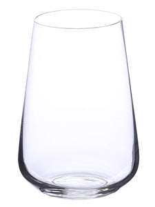 Bohemia Crystal Sandra Cocktail & Juice Drinking Glass Set, 380 ML, Set of 6pcs,