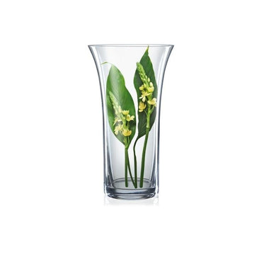 Bohemia Crystal Non Lead Crystal Glass Vase, height: 255mm, Tranparent