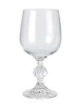 Load image into Gallery viewer, Bohemia Crystal Claudia Wine Glass 230ml, Set of 6 pcs, Transparent, Non Lead Crystal