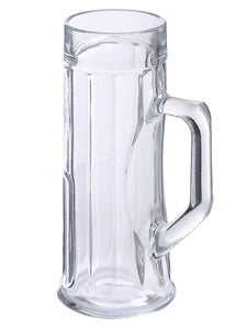 Oberglas Premium Ribbed Beer Mug 330 ML Set of 2pcs