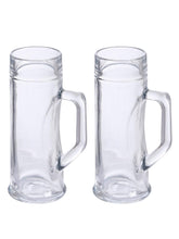 Load image into Gallery viewer, Oberglas Premium Plain Beer Mug 330 ML Set of 2 pcs
