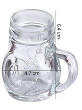 Load image into Gallery viewer, Oberglas Birnen Beer Shot / Beer Tasting Mug 40 ML Set of 3 pcs