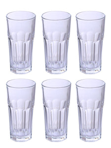 Uniglass Marocco Highball glass 280 ML, Set of 6 pcs