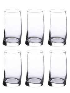 Uniglass Surf Highball glass 385 ML, Set of 6 pcs
