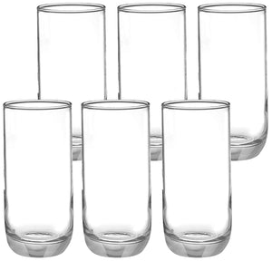 Uniglass Kouros Highball Glass 360 ML, Set of 6 pcs
