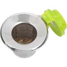 Load image into Gallery viewer, Trudeau Stainless Steel Tea Infuser-Flip, Green