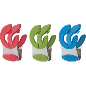 Trudeau Flex Pot Clip, set of 3, Multicolour